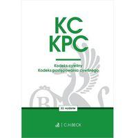 Książki prawnicze i akty prawne, Kodeks Cywilny Kodeks Postępowania Cywilnego Wyd. 22 - Praca zbiorowa (opr. miękka)
