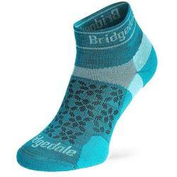 Skarpety biegowe damskie Bridgedale Ultra LtT2 Merino Sport Low - teal