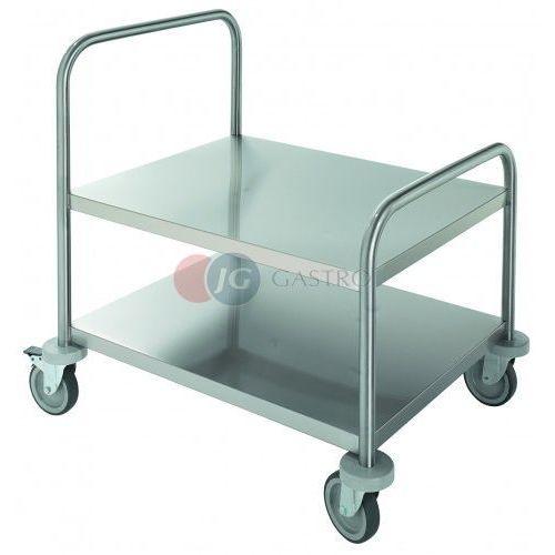 Wózki na żywność, Wózek kelnerski 2-półkowy do pakowarek próżniowych CEV