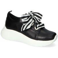 Damskie obuwie sportowe, Sneakersy Karino 3375/076-P Czarne lico