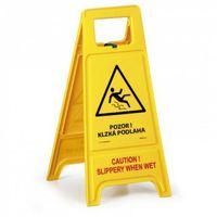 Oznakowanie informacyjne i ostrzegawcze, Stojak ostrzegawczy - Uwaga! Śliska podłoga SK