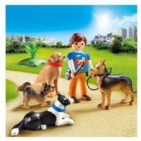 Klocki dla dzieci, Playmobil CITY LIFE Treser psów 9279