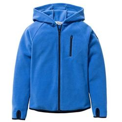 Bluza z polaru z kontrastowymi elementami bonprix lodowy niebieski - ciemnoniebieski