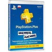 Klucze i karty przedpłacone, Sony Subskrypcja PlayStation Plus (12 m-ce karta zdrapka) - produkt w magazynie - szybka wysyłka!