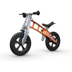 Rowerek biegowy FIRST BIKE CROSS /pomarańczowy/