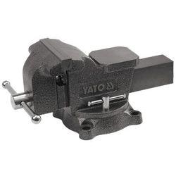 Imadło ślusarskie, obrotowe 125 mm / YT-6502 / YATO - ZYSKAJ RABAT 30 ZŁ