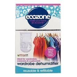 Naturalny osuszacz powietrza - wiszący do szafy - starcza na 3 miesiące - Ecozone