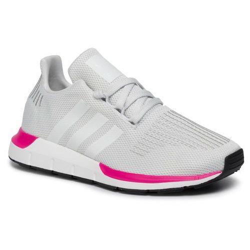 Buty sportowe dla dzieci, Buty adidas - Swift Run J EE7024 Crywht/Crywht/Cblack