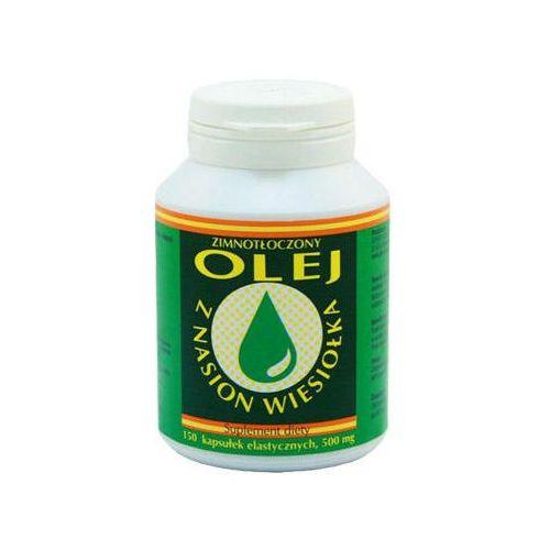 Pozostałe leki na układ krążenia, Olej z nasion wiesiołka 500mg 100 kaps.