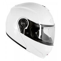 Kaski motocyklowe, OZONE KASK SYSTEMOWY FLIP UP F PINLOCK READY WHITE