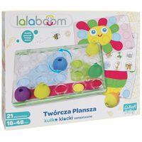 Pozostałe zabawki edukacyjne, Trefl 61358 Lalaboom Twórcza Plansza Kulko-Klocki sensoryczne