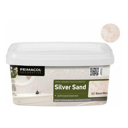 Farby, Farba dekoracyjna Primacol silver sand 1 l