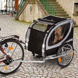 Przyczepka rowerowa No Limit Doggy Liner Paris de Luxe - Dł. x szer. x wys.: 148 x 90 x 88 cm / do 50 kg