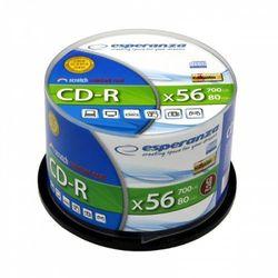 CD-R ESPERANZA SILVER - CAKE BOX 50 SZT.