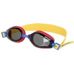 Okulary pływackie SPURT J-2 AF Czerwono-żółty