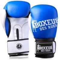 Rękawice do walki, Rękawice bokserskie BOXEUR BXT-5124 (rozmiar 10 oz) Niebieski