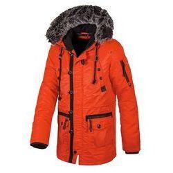 Zimowa kurtka z kapturem Pit Bull Old Cliffs Orange (527112.2500)