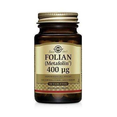 Pozostała ciąża i karmienie, Folian 400 50tabl