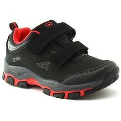 Dziecięce buty sportowe American Club WT11/20 Softshell - Czerwony ||Czarny