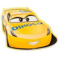 Naklejka piankowa dla dzieci Cars żółta