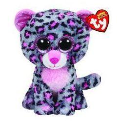 Beanie Boos Tasha - Pink/grey leopard med. Darmowy odbiór w niemal 100 księgarniach!