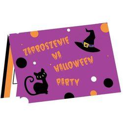 Zaproszenia Halloween - 6 szt.