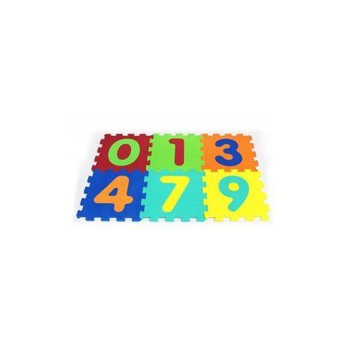 Puzzle, 6 EL. Puzzle piankowe cyferki