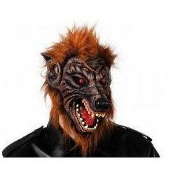 Maska Wilkołak Brązowy