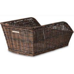 Kosz na tylny bagażnik BASIL CENTO RATTAN LOOK Mounting set for CENTO basket, syntetyczny ratan brązowy