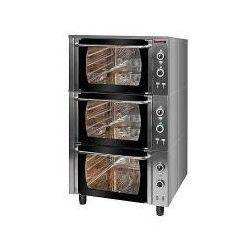 Piekarnik elektryczny z termoobiegiem 3-komorowy | KROMET 000.PE-3/T