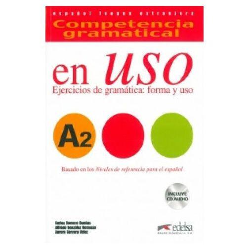 Książki do nauki języka, En Uso A2 ejercicios.de gram. forma y uso (opr. miękka)