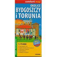 Przewodniki turystyczne, Comfort!map Okolice Bydgoszczy i Torunia 1:75 000