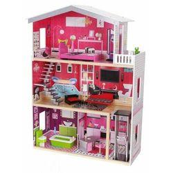 Drewniany domek dla lalek z windą Rezydencja Malibu Ecotoys