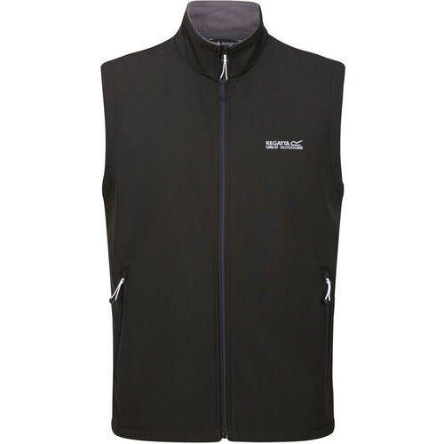 Kamizelki męskie, Regatta Bradwell III Kamizelka Mężczyźni, black S 2020 Kamizelki softshell