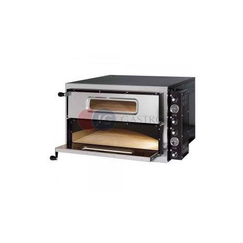 Piece i płyty grzejne gastronomiczne, Piec do pizzy 2-komorowy 2x 4x35 cm Gredil 782002