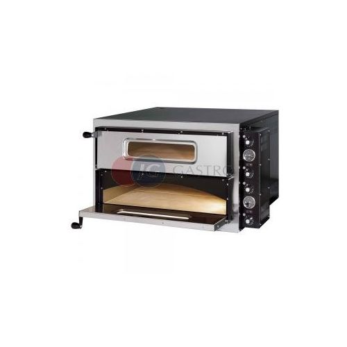 Piece i płyty grzejne gastronomiczne, Piec do pizzy 2-komorowy 2x4x35cm Gredil 782002
