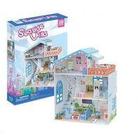 Domki dla lalek, Puzzle 3D Seaside Villa Domek dla lalek