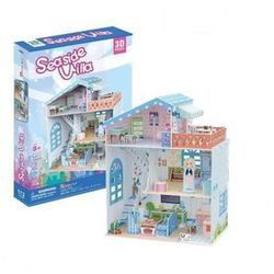 Puzzle 3D Seaside Villa Domek dla lalek