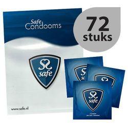 Prezerwatywy klasyczne - Safe Just Safe Condoms 72szt