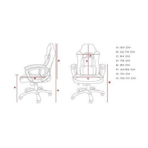 Fotele dla graczy, GENESIS FOTEL DLA GRACZA NITRO 330 CZARNO-ZIELONY NFG-0906 - odbiór w 2000 punktach - Salony, Paczkomaty, Stacje Orlen