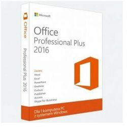 Office 2016 Professional Plus na Windows RETAIL FPP Polska wersja językowa! / szybka wysyłka na e-mail / Faktura VAT / 32-64BIT / WYPRZEDAŻ