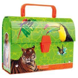 Kuferek STARPAK kartonowy z rączką Animal Planet (20 x 14.5 x 8 cm)