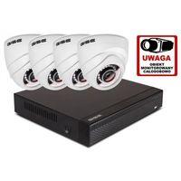 Zestawy monitoringowe, Zestaw 4w1, 4x Kamera HD/IR20, Rejestrator 4ch
