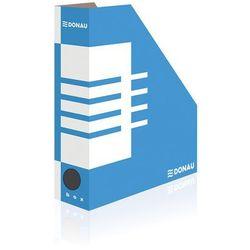 Pojemnik na dokumenty (czasopisma) Donau A4 niebiesko-biały (7649001PL-10)