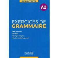 Książki do nauki języka, En Contexte Exercices de grammaire A2 Podręcznik + klucz odpowiedzi (opr. miękka)