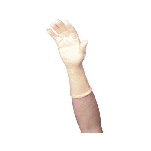 Rękawice ochronne, Rękawica bawełniana gładka długa, 35cm