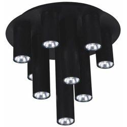 Plafon LAMPA sufitowa K-4402 Kaja metaowa OPRAWA tuby sople kaskada czarna