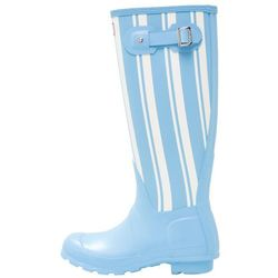 Hunter ORIGINAL GARDEN STRIPE TALL Kalosze forget me not