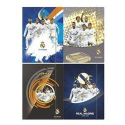 Teczka z gumką A4 Real Madrid 10 sztuk mix. Darmowy odbiór w niemal 100 księgarniach!