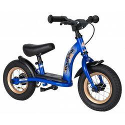 """Rowerek biegowy 10"""" NISKI od 2 lat BIKESTAR GERMANY classic niebieski"""
